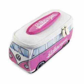 kleine VW toilettas roze