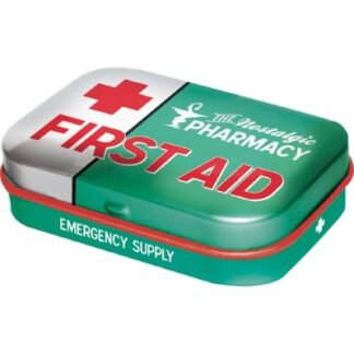 muntdoosje first aid green