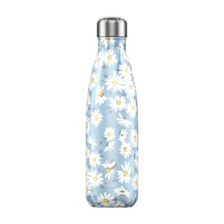 chillys bottle floral daisy 500ml