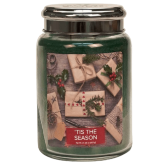 Village-Candle-tis-the-season-large-candle-geurkaarsen-interieurgeuren-kaars-herfst-kerstmis-winter-www-sajovi-nl