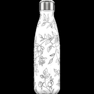 chillysbottle-pattern-line-flowers-500ml