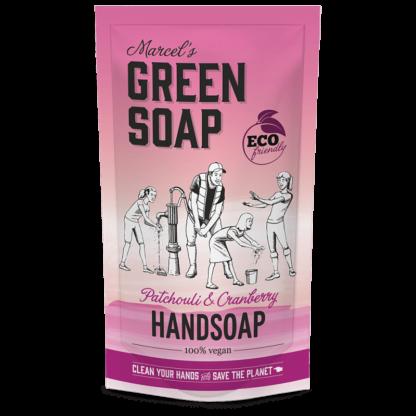 navulling handzeep marcel green soap