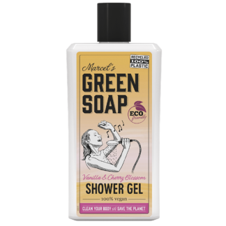 Marcel green soap douchegel vanille kersen 500ml