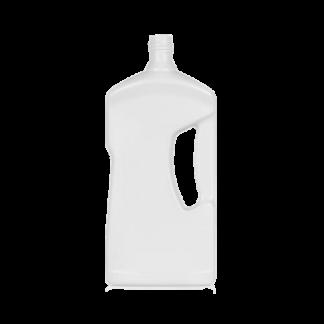 lege fles met handgreep