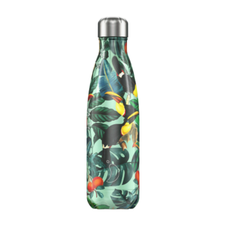 Chilly-bottle-vacuum-flask-tropical-500ml-toucan