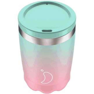 gradient pastel coffee cup