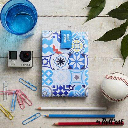 Boc n Roll Patchwork Azul 3
