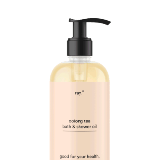 Oolongtea bad en douche olie